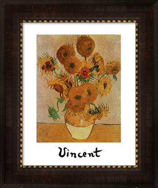 Sunflowers by Vincent Van Gogh. Thought to have bipoplar disorder.