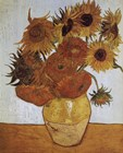 Van Gogh Vase with Twelve Sunflowers Prints