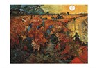 The Red Vineyard at Arles Prints