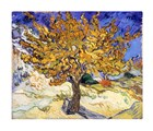 Van Gogh The Mulberry Tree in Autumn Print