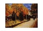 Van Gogh Autumn Garden Print