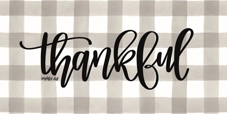 Thankful by Imperfect Dust art print