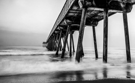Under the Pier by Bill Carson Photography art print