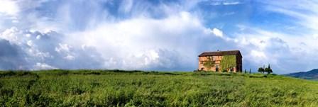 Tuscan Farmhouse by Shelley Lake art print
