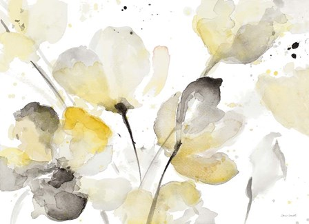 Neutral Abstract Floral I by Lanie Loreth art print