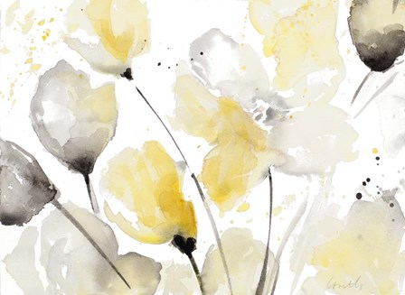 Neutral Abstract Floral II by Lanie Loreth art print