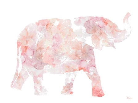 Flowers In Elephant by Patricia Pinto art print