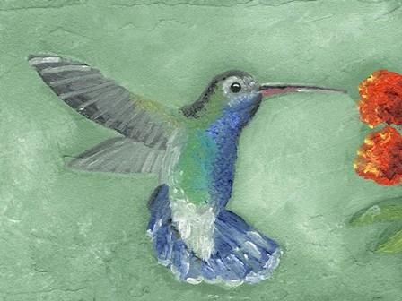 Fresco Hummingbird I by Alicia Ludwig art print