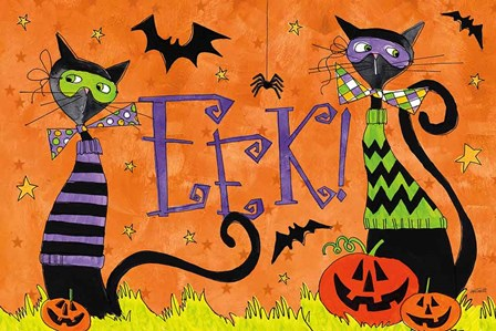 Spooky Fun II by Anne Tavoletti art print