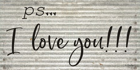 PS  I Love You by Susie Boyer art print