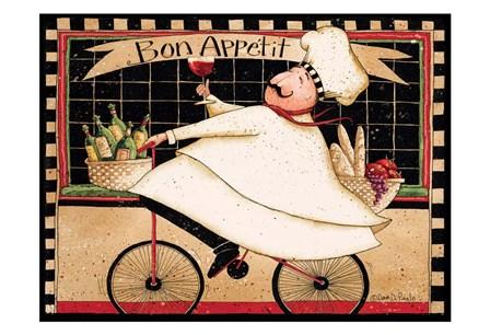 Bon Appetit by Dan Dipaolo art print
