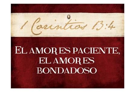 Corintios El Amor by Jace Grey art print