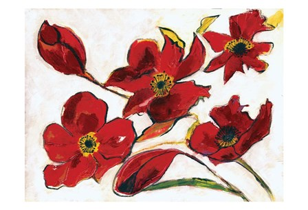 Poppy Reds by Smith-Haynes art print