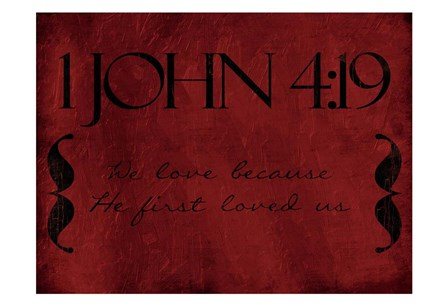 John We Love by Milli Villa art print