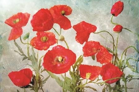 Poppies by Bluebird Barn art print
