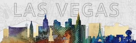 Las Vegas by Michel Keck art print