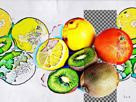 Fruit I by Michel Keck art print