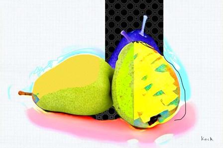 Pears I by Michel Keck art print