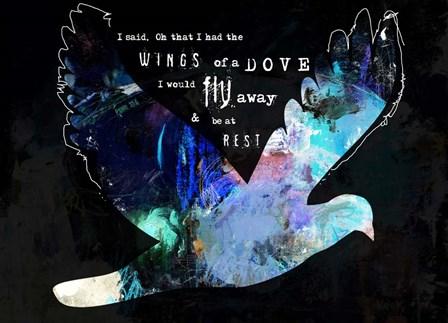 Dove by Michel Keck art print