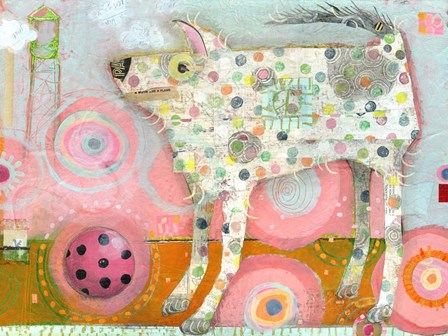 The Distraction by Judy Verhoeven art print