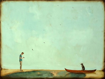 Day Training by Alicia Armstrong art print