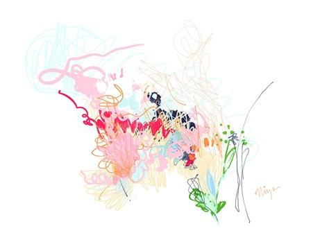 Delicate Florals by Christine Niya art print