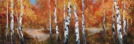 Autumn Birch II by Art Fronckowiak art print