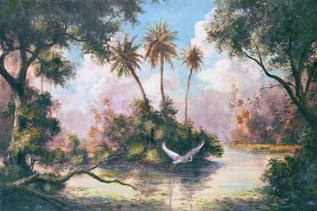 Glades Hammock by Art Fronckowiak art print