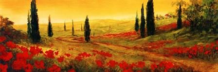 Toscano Panel I by Art Fronckowiak art print