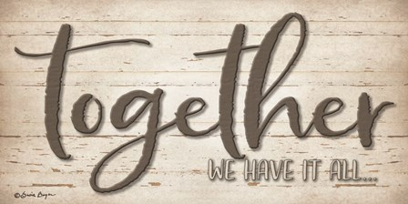 Together We Have It All by Susie Boyer art print