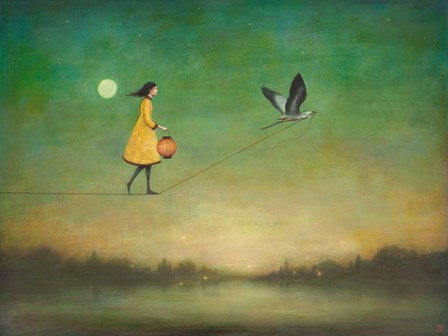 Blue Moon Expedition by Duy Huynh art print