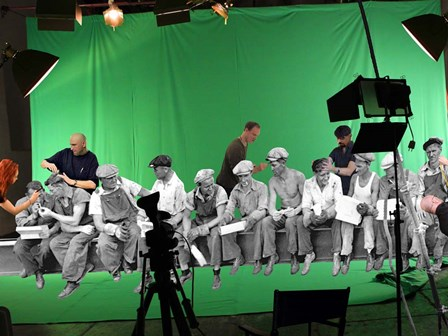 Green Screen by Barry Kite art print