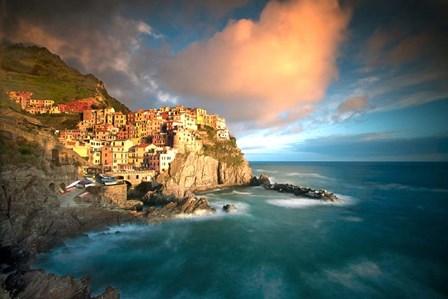 Cinque Terre, Italia by Alan Klug art print