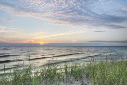 Lake Michigan Sunset III by Alan Majchrowicz art print