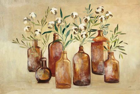 Cotton Still Life I by Julia Purinton art print