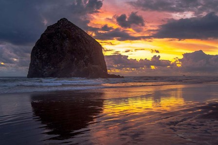 Cannon Beach Sunset by Tim Oldford art print