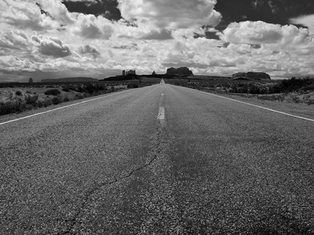 Monument Valley Road by Tim Oldford art print