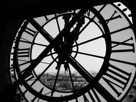 Clock Tower by Design Fabrikken art print