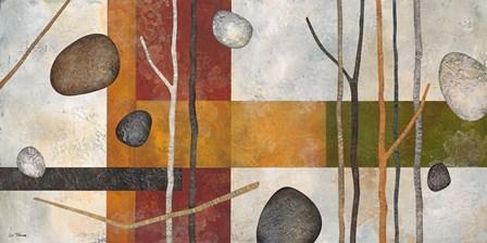 Sticks and Stones IX by Glenys Porter art print