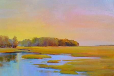Summer Marsh 2 by Holly Ready art print