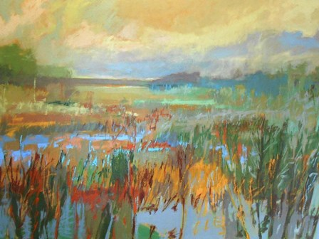Marsh in May by Jane Schmidt art print