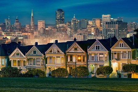 Painted Ladies by Lee Sie art print