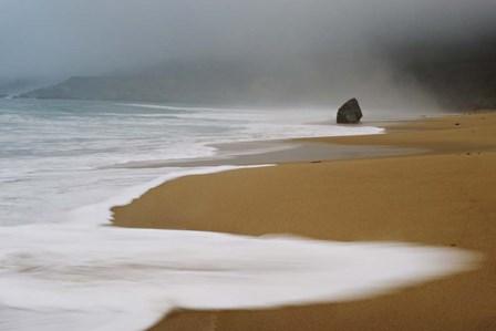 Foggy Beach by Eddie Soloway art print