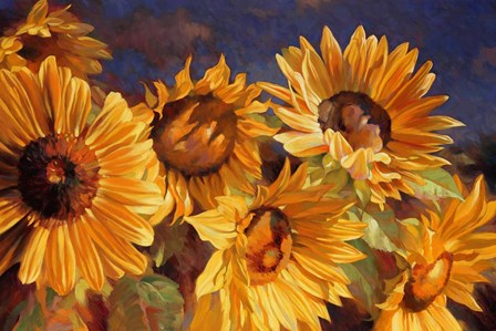 Sunflower by Emma Styles art print