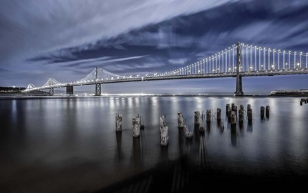 The Bay Lights by Toby Harriman Visuals art print