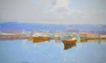 Harbor by Vahe Yeremyan art print