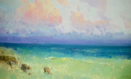 Ocean Side - Pacific Highway by Vahe Yeremyan art print