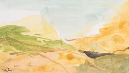 Through the Silence by Jan Weiss art print