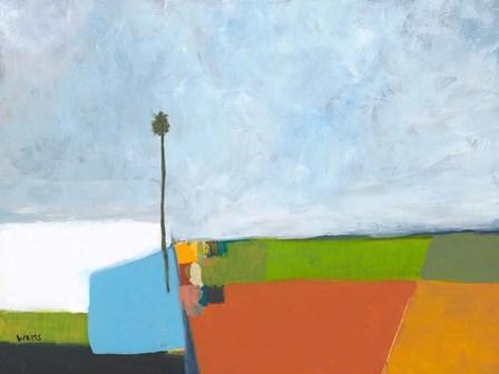 Under a Stormy Sky by Jan Weiss art print