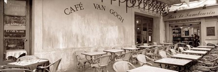 Cafe Van Gogh by Alan Blaustein art print